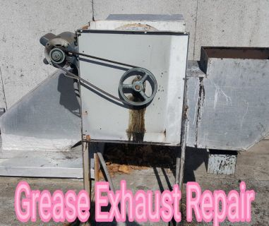 Restaturant Exhaust Fan Repair