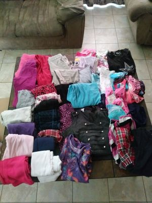 Difference clothes for girls