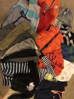 Adorable vests, sweaters, and pants for boys 3 months