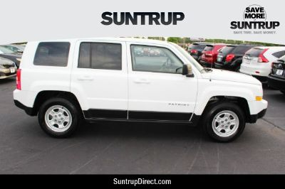 2016 Jeep Patriot Sport (Bright White Clearcoat - White)