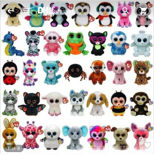 Looking for a lot of Beanie Babies or any small stuffed animal