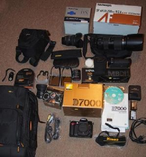 Digital SLR Camera, lenses and accessories