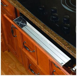 Sink or stove tilt out tray