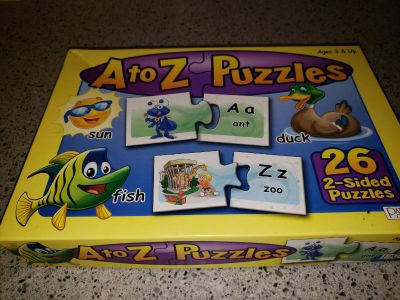A to Z puzzles