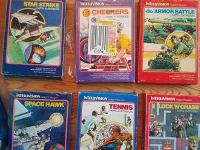 INTELLIVISION GAMES - 31 in all!