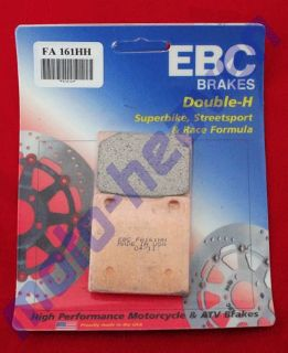Sell Kawasaki EBC FA161HH Rear Brake Pads Kawasaki ZRX ZZR 1200 ZX 12R ZRX1200 ZX12R motorcycle in Sugar Grove, Pennsylvania, United States, for US $31.95