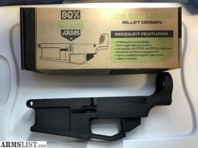 For Sale: 80% arms 308