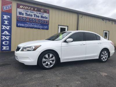 2008 Honda Accord EX-L (White)