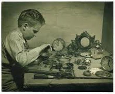 Vintage Car & Aircraft Clocks & Aviator Watch Repair Restoration Service