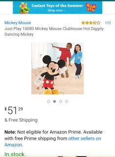 Mickey mouse clubhouse hot diggity dog dancing mickey