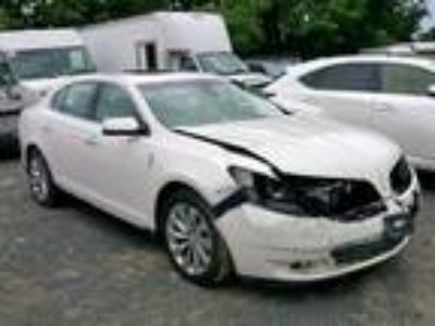 Salvage 2016 LINCOLN MKS for Sale