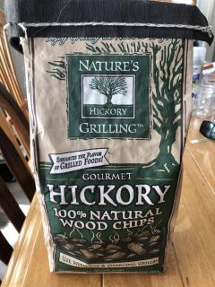 Wood chips for bbq