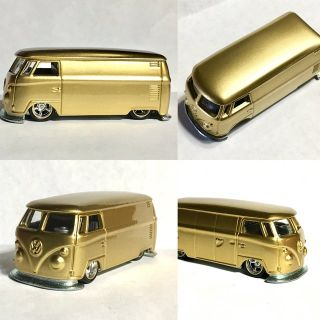 Hot Wheels VW Bus Gold Custom