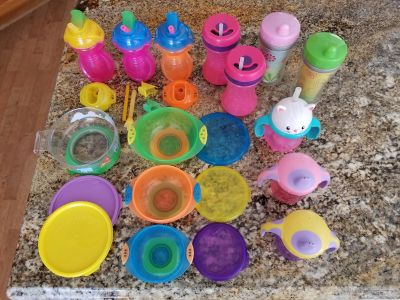 Sippy/Straw Cups and Suction Bowls