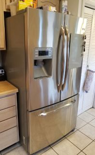 GE Profile 25.5 cu ft French-Door Refrigerator