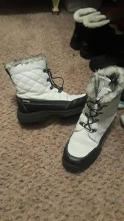 Totes waterproof boots and are so cute at the same time