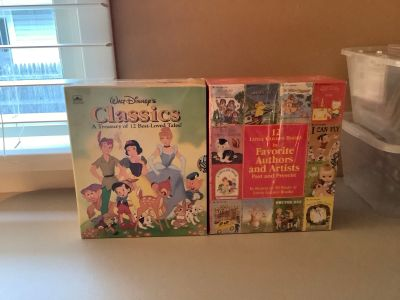Classic Walt Disney 12 story books. And 12 little golden books. Never opened