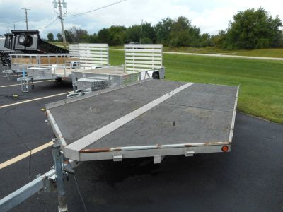 2001 Loadmaster Utility Trailers 3 PLACE SNOW TRAILER Trail/Touring Trailers Belvidere, IL