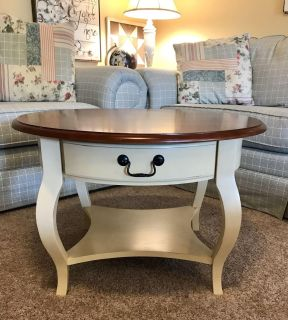 NEW WAYFAIR/TARGET French Country Round Coffee Table
