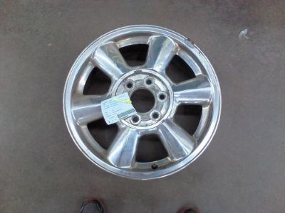 Buy 2004 GMC ENVOY Wheel 17x7 aluminum, 6 spoke, single spokes covered lug nuts motorcycle in Eagle River, Wisconsin, United States, for US $80.00