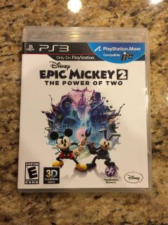 Epic Mickey 2: The Power of Two - PS3 Game