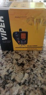 Brand new! Never used. Remote start & car security system