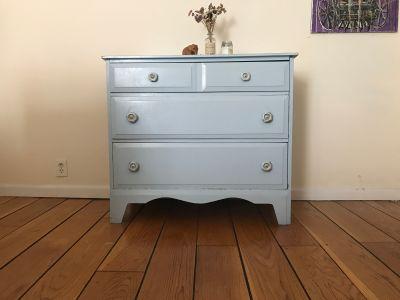 Vintage Davis Cabinet Co. Solid Wood Dresser