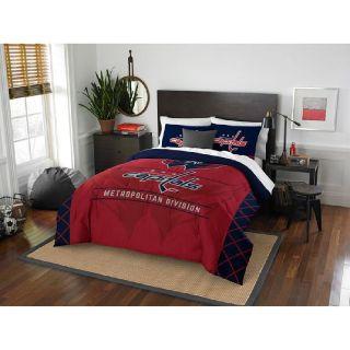 Washington Capitals NHL Draft Full/Queen Comforter Set