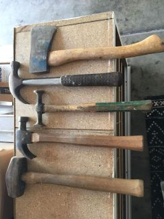 Tools. Hammers and more.
