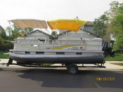 ?;2008 Sun Tracker Party Barge 21?
