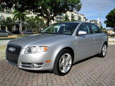 2007 Audi A4 2.0T (Light Silver Metallic)