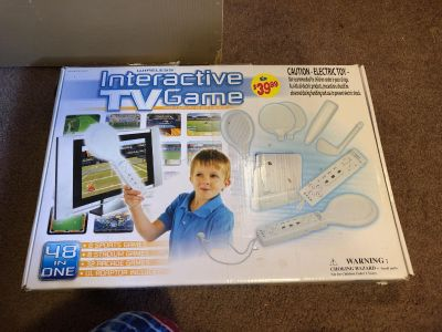Interactive TV game (like wii)