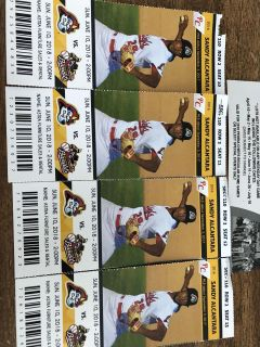 4 - Chiefs Tickets for Today s game at 2pm