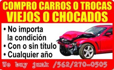 Express junk cars te paga por tu carro