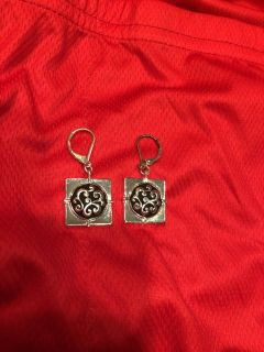 Brand New Silver Earrings. Great for Valentine s Day