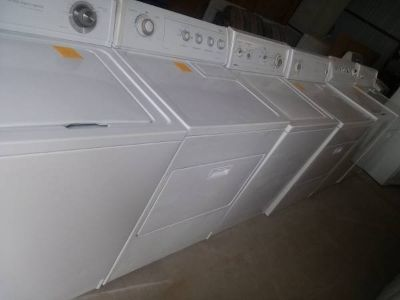Selection of Washers and Dryers