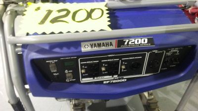 2015 Yamaha EF7200D Generators Sandpoint, ID