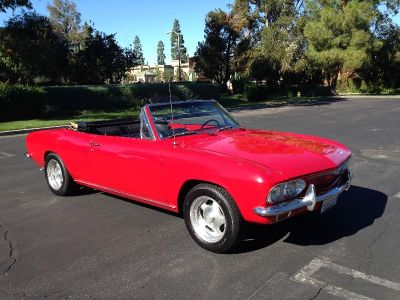 1965 Chevrolet Corvair Monza Convertible 4 Speed Completely Restored