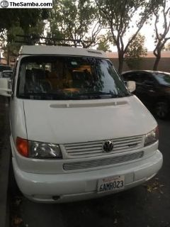 1999 Eurovan Full camper, Clean Title ,3 Row Seats