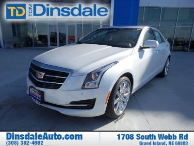 2016 Cadillac ATS 2.0T Luxury (Crystal White Tricoat)