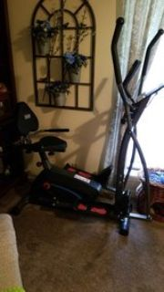 Bicycle/Stepper Combo