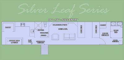 Silver Leaf Series 10X50 Underground Bunker