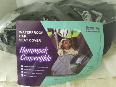 Dog back seat car cover