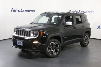 2015 Jeep Renegade (black)
