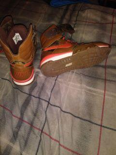 Mens Hi Top Camo Nike Sneakers