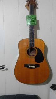Mitchell MD 212 12 string acoustic guitar