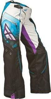 Find Fly Racing Kinetic Ladies Overboot Pants Motocross Racewear Blue/Purple motorcycle in Hinckley, Ohio, United States, for US $99.95
