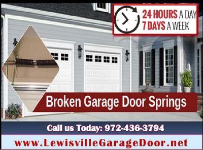 24 Hour | Emergency Garage Door Spring Repair ($25.95) Lewisville Dallas, 75056 TX