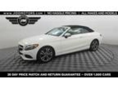 Used 2018 Mercedes-Benz C-Class White, 42.1K miles