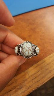 NEW! Turquoise stone Sterling silver ring